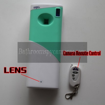 Hidden Camera Air Freshener in Bathroom HD 32G 1080P