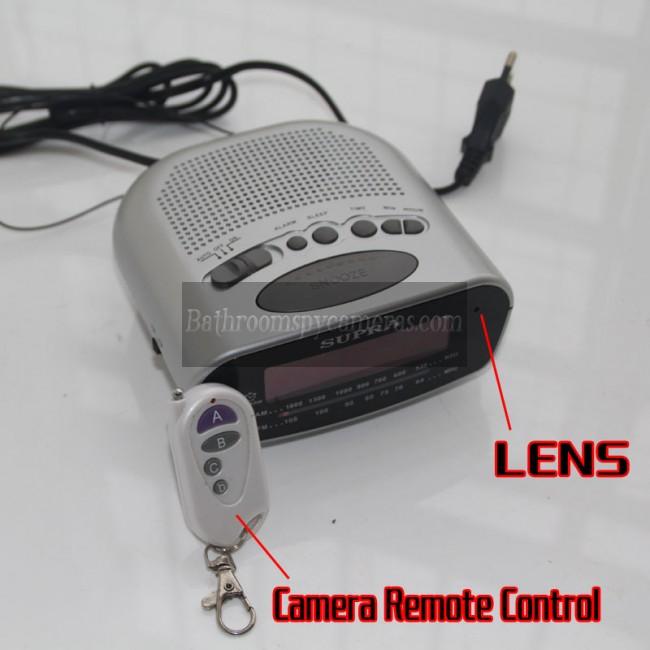 시계 라디오스파이카메라1080P DVR 16G Full HD 동작 활성화 최고 몰 래 카메라